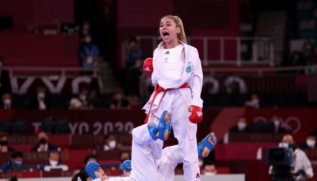 Каратистка Терлюга выиграла «серебро» Олимпиады-2020