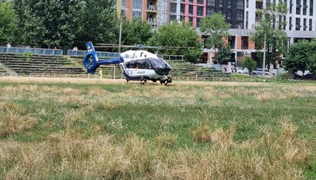 В Охматдет вертолетом доставили 6-месячного ребенка с сепсисом
