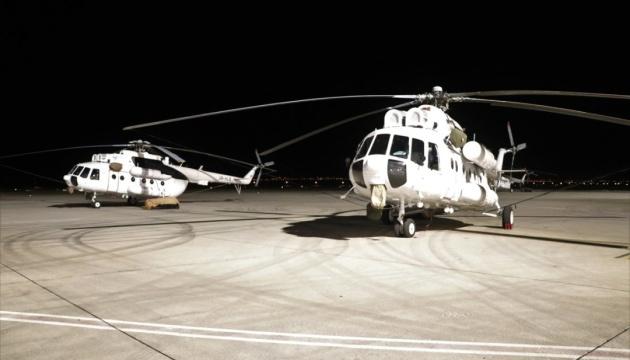 Могут тушить пожар в горах ночью: в Турцию прибыли четыре украинских вертолета