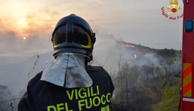 В Италии 70% лесных пожаров - это следствие человеческих действий