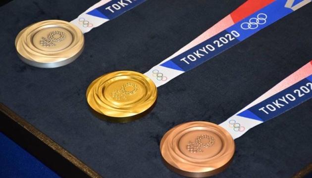 Українські олімпійці отримають за призові місця до $125 тисяч