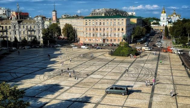 Збитки від дрифту на Софійській площі оцінили майже у ₴50 тисяч