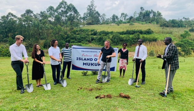 Ukraine's embassy takes part in ceremony of launching construction of charitable center in Kenya