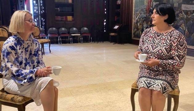 Ambassador promotes launch of Ukrainian-language audio guide at Skopje museum