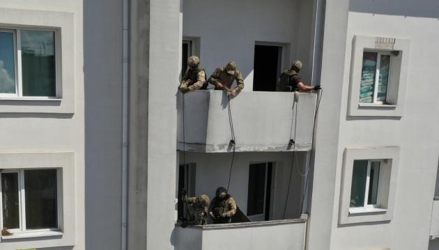 Uman: Antiterrorübung vor Pilgerschaft der Chassiden