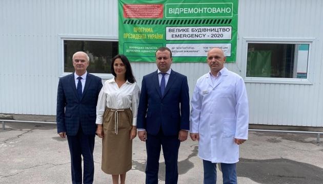 Сергій Борзов: У Калинівці завдяки «Великому будівництву» оновлено приймальне відділення