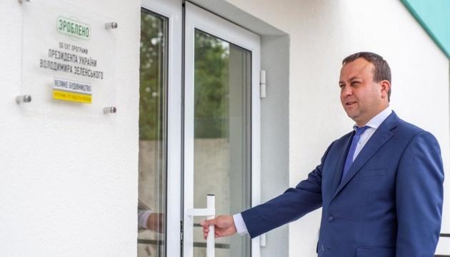 Сергій Борзов: У Козятині відкрили оновлене приймальне відділення опорної лікарні