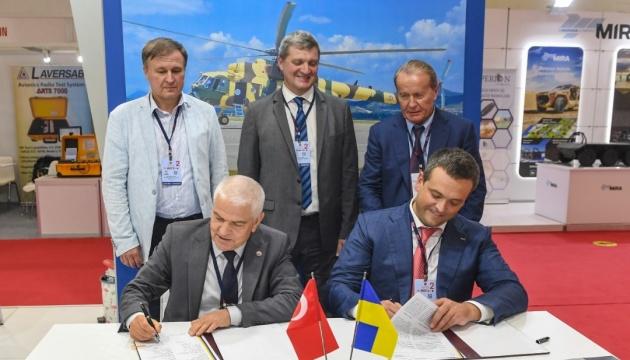 Ukroboronprom establecerá una base en Turquía para reparar helicópteros Mi-17