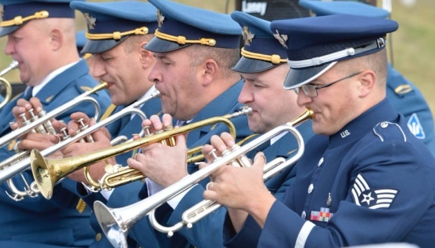 USAFE Band arrives in Kyiv to participate in events dedicated to Ukraine's independence