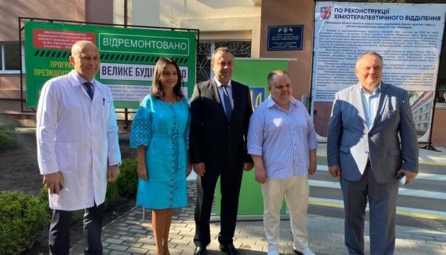 Сергій Борзов: На Вінниччині відкрили оновлений Подільський регіональний онкоцентр