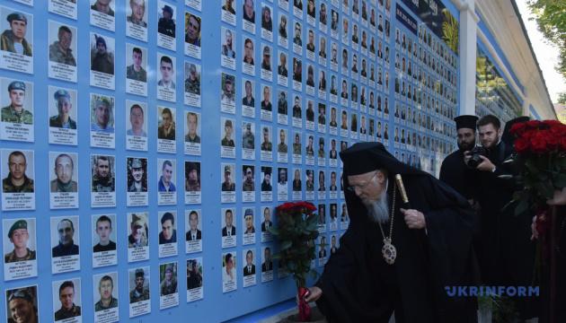 コンスタンティノープル全地総主教、ウクライナ東部紛争戦死者とホロドモール犠牲者を追悼
