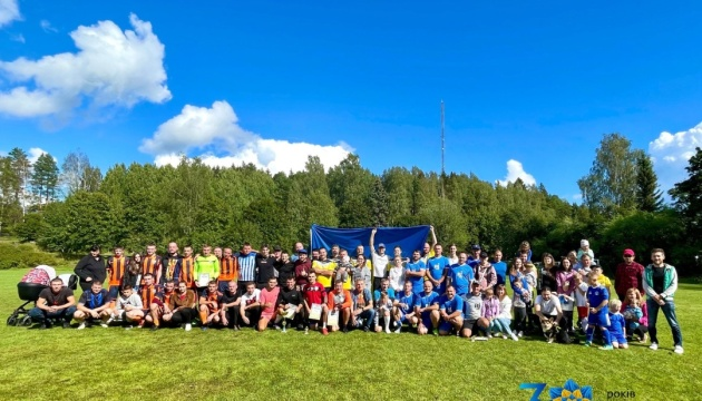 У Фінляндії до річниці незалежності України провели турнір з мініфутболу
