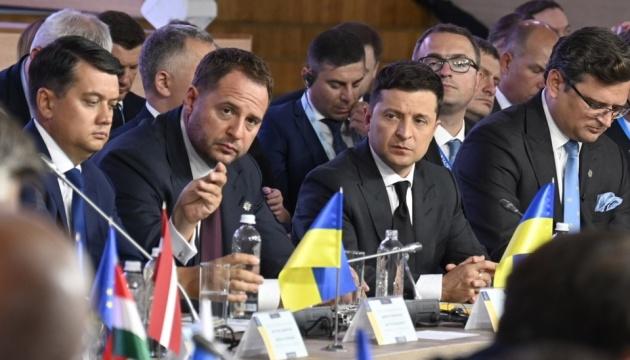 ゼレンシキー大統領、クリミア・プラットフォーム首脳会談で演説 「脱占領問題を国際議題の頂点に押し上げた」