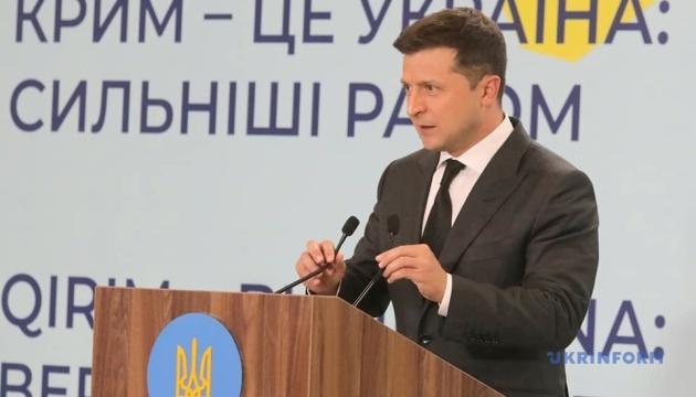 Andere Staaten können sich der Deklaration der Krim-Plattform anschließen -  Präsident Selenskyj