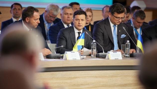 ゼレンシキー大統領、クリミア・プラットフォーム宣言に将来ロシアが署名することを期待