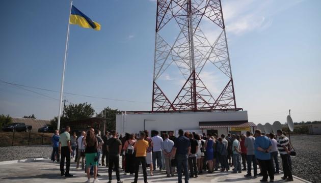 Luhansk: Neuer Sendemast in Betrieb