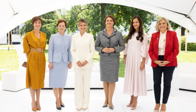 First ladies launch international platform to solve humanitarian issues globally