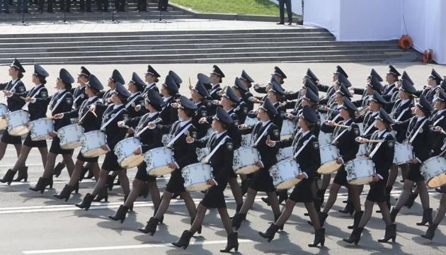 Celebraciones y desfile de tropas con motivo del Día de la Independencia de Ucrania
