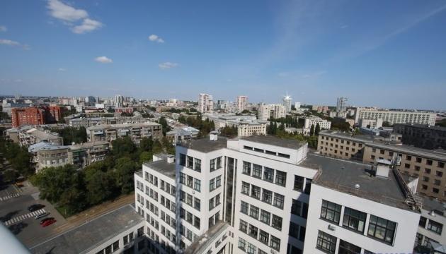 На даху Держпрому в Харкові відкрили оглядовий майданчик