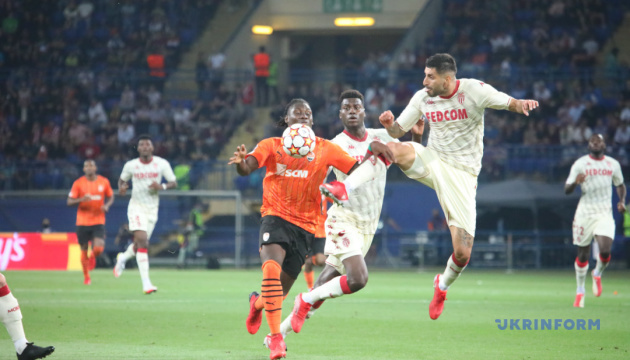 Shakhtar edge past Monaco into Champions League group stage