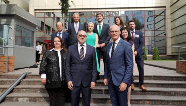 Inaugurada la Embajada de Irlanda en Ucrania