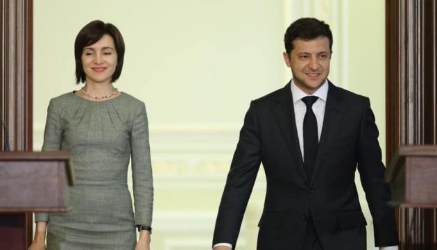Selenskyj und moldauische Präsidentin Sandu treffen sich am Freitag in Chisinău