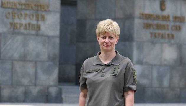 Erste Generalin in den Streitkräften der Ukraine