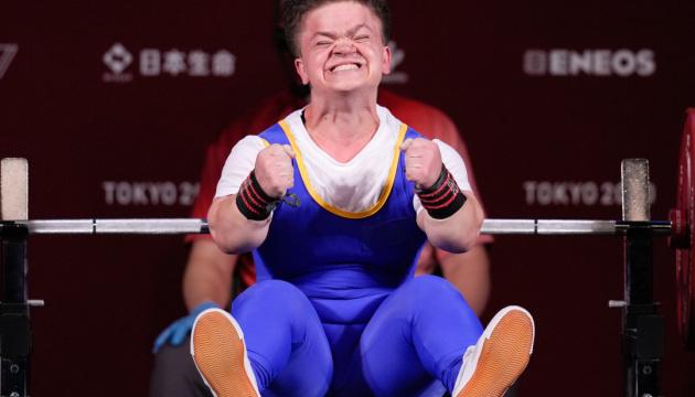 【東京パラリンピック】シェウチューク選手、パワーリフティング55キロ級で金獲得