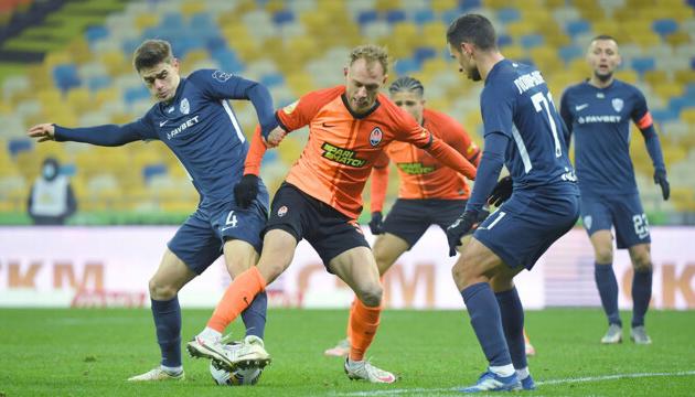 «Минай»  відібрав очки у «Шахтаря» в чемпіонаті України з футболу