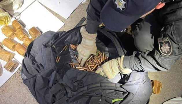 Гранаты, тротил и патроны: под Киевом обнаружили схрон