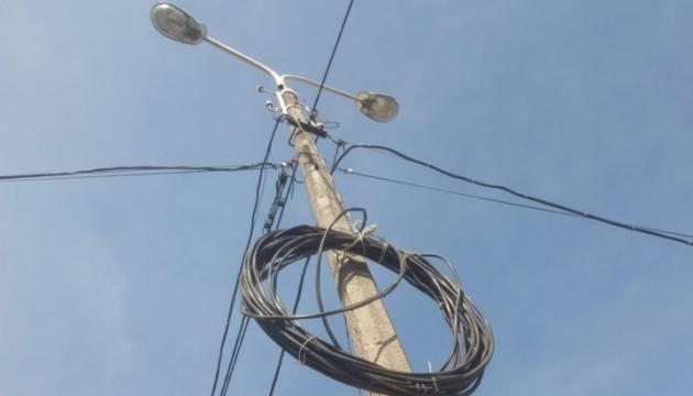 Unwetter in der Ukraine sorgt für Stromausfall in 126 Ortschaften