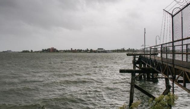 Ураган «Ида» вынудил реку Миссисипи изменить направление течения