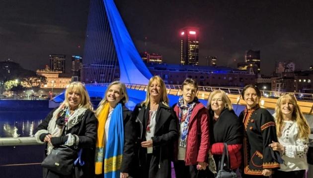 В Аргентині товариство «Просвіта» долучилося до святкування Дня Незалежності України