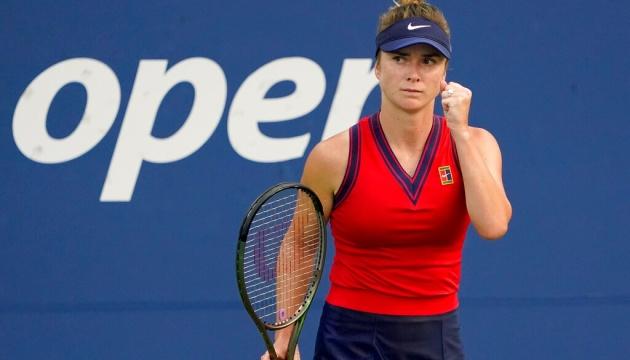 Свитолина вышла во второй круг US Open