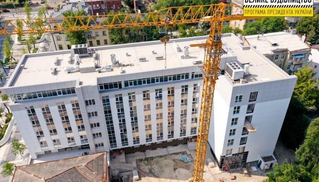 У Дніпрі завершується реконструкція дитячої лікарні