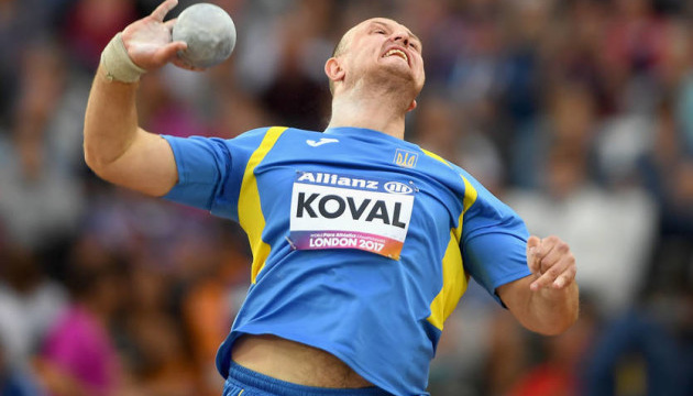 Koval wins Paralympic gold in shot put, Yarovyi takes silver