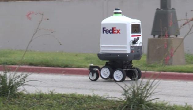 Американська логістична компанія тестує на дорогах автономного робота для доставки