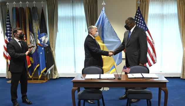 Міноборони України та США підписали міжурядову Угоду про проєкти у сфері досліджень