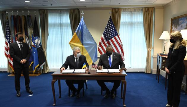 Украина и США подписали рамочное соглашение о стратегических принципах оборонного партнерства