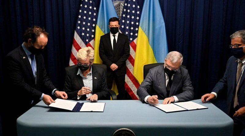 Україна і США підписали меморандум про будівництво п'яти енергоблоків на Хмельницькій АЕС