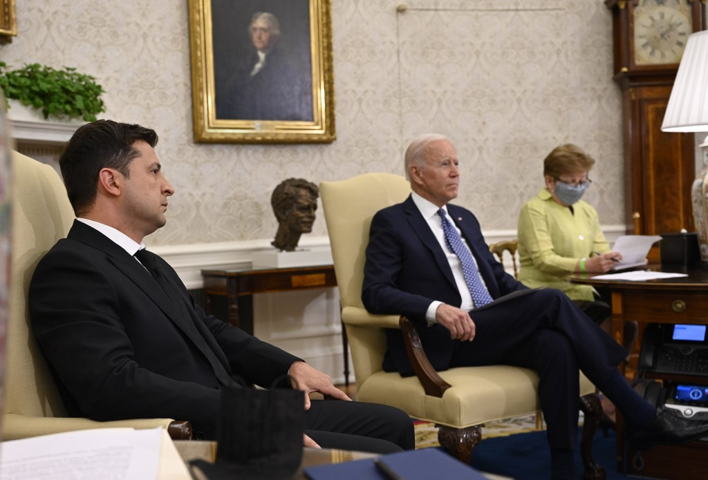 Photo from the Ukrainian President's Office