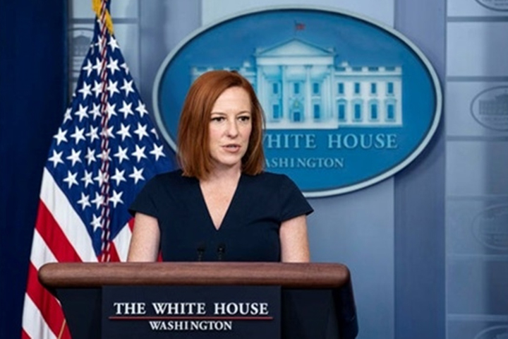 Jen Psaki / Photo from EPA