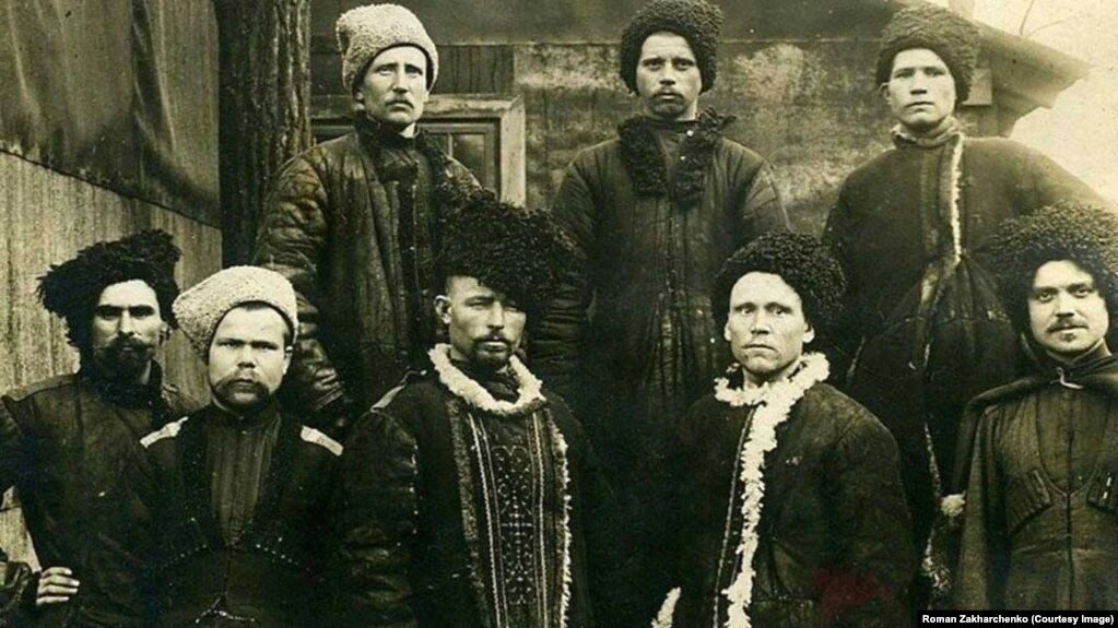 Seryi Klyn. Cossacks of the Hetman Petro Sahaidachny squad. In 1917-1920, a movement for Ukrainian state autonomy was launched Seryi Klyn.