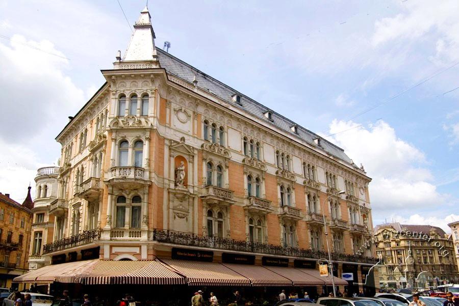 готель Жорж, площа Міцкевича, 1, Львів