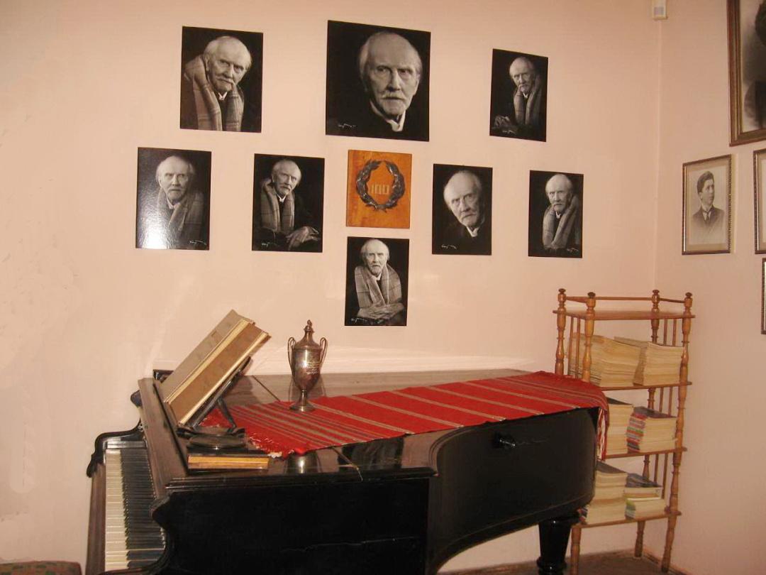 робочий кабінет композитора, Меморіальний музей Станіслава Людкевича, Львів