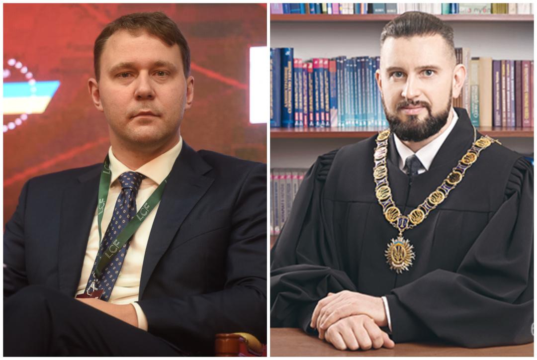 Служителі Феміди Іван Міщенко та Євген Мєзєнцев