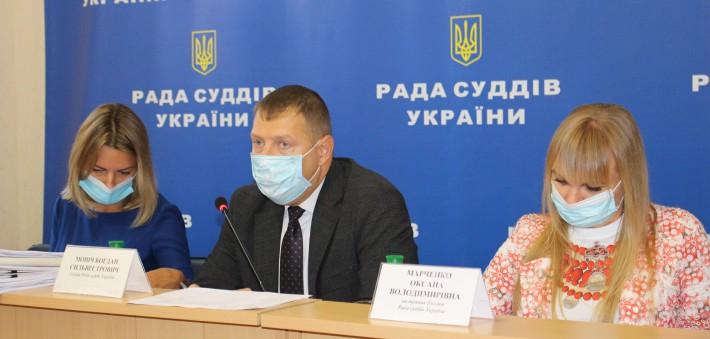 Голова РСУ Богдан Моніч, його заступниця Оксана Марченко (праворуч на фото) та секретарка РСУ Олена Журавська