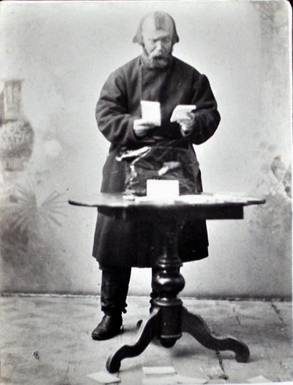 Іван Тобілевич у ролі Калитки у виставі Сто тисяч за п'єсою І.Тобілевича, 1896 р.