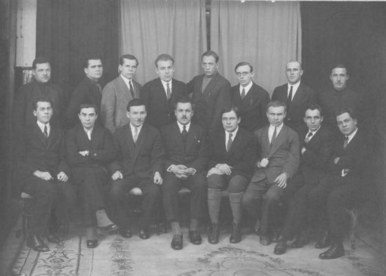 Фото членів ВАПЛІТЕ з Вікіпедії