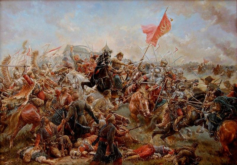 Мирослав Добрянський «Битва під Пилявцями» (2008)